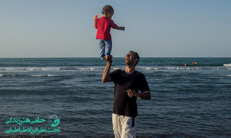 وابستگی شدید کودک به پدر   علت ها و راه های درمانی