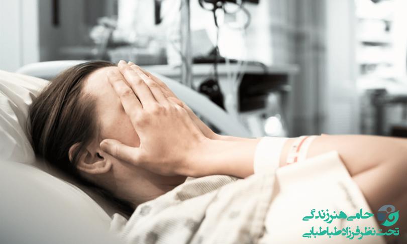 افسردگی بعد از عمل بینی و جراحی   نشانه ها و علل ایجاد آن