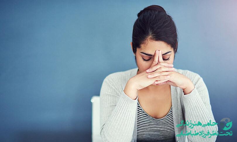 درمان استرس زنان