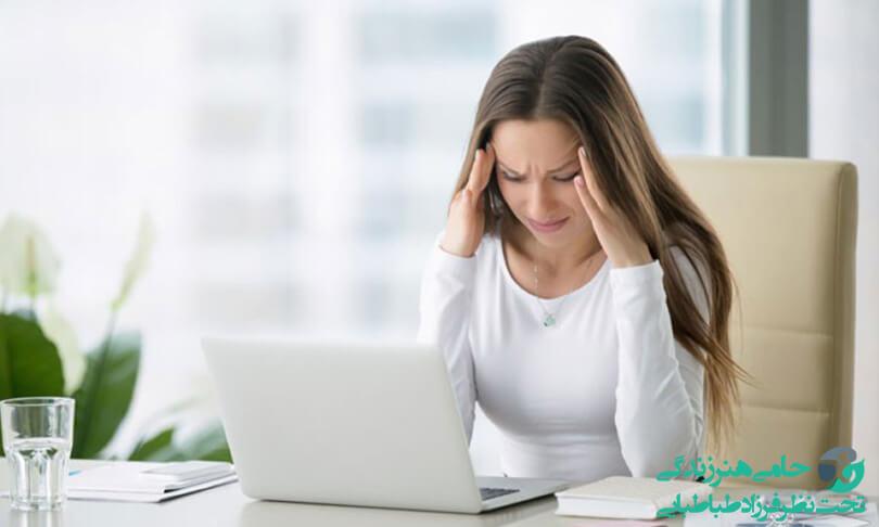 علت اضطراب زنان