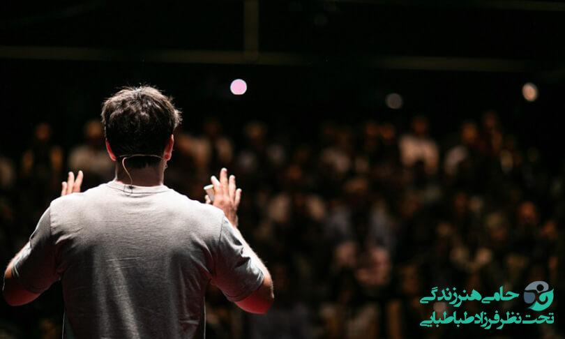 کنترل اضطراب سخنرانی برای داشتن تجربه ای شیرین از سخنوری در جمع