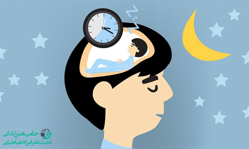 استرس در زمان خواب