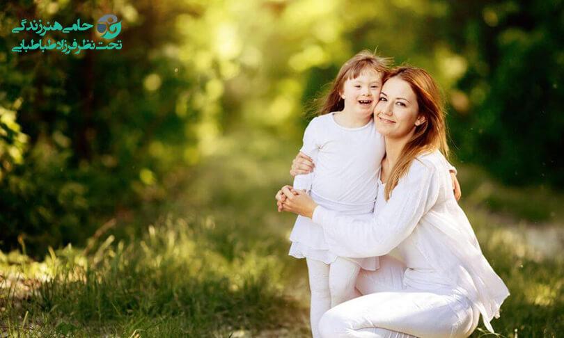 مراقبت از کودک سندرم داون چگونه است