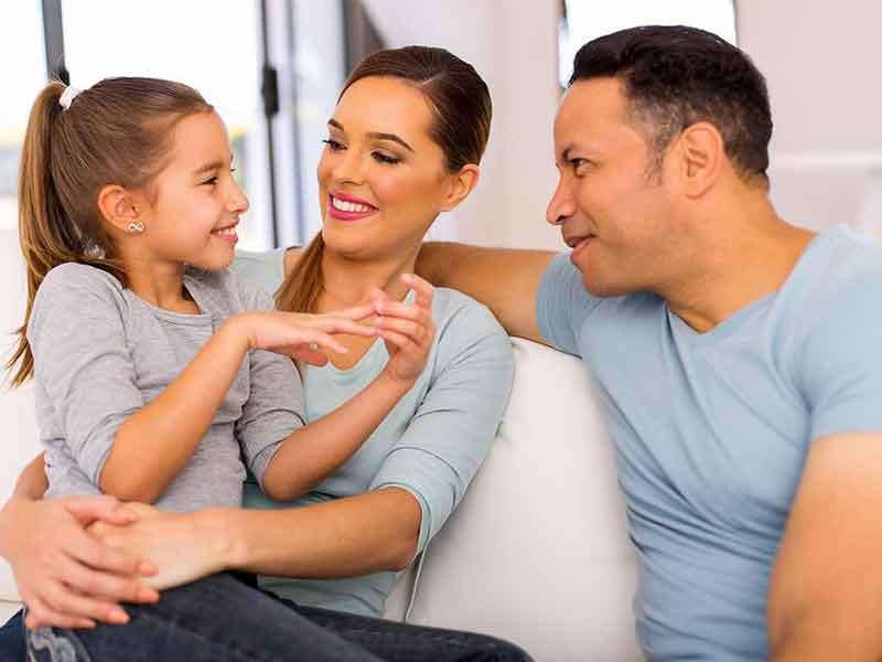 چگونگی رفتار با فرزندان