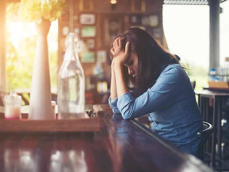 6 نشانه ی افسردگی پنهان