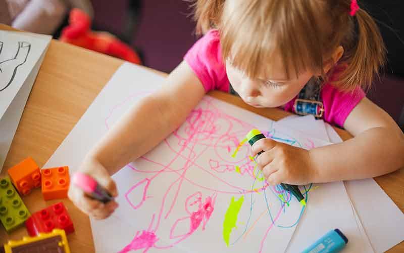 تفصیر نقاشی کودک | پی بردن به هوش و ویژگی های کودک از روی نقاشی کودکان