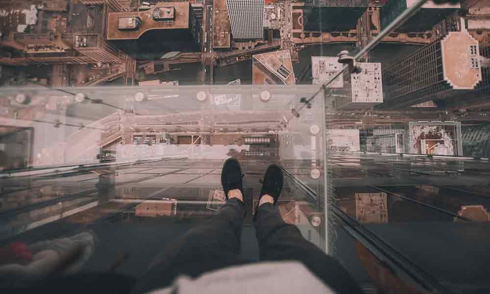 ترس از ارتفاع | علل، نشانه ها و درمان فوبیای ارتفاع
