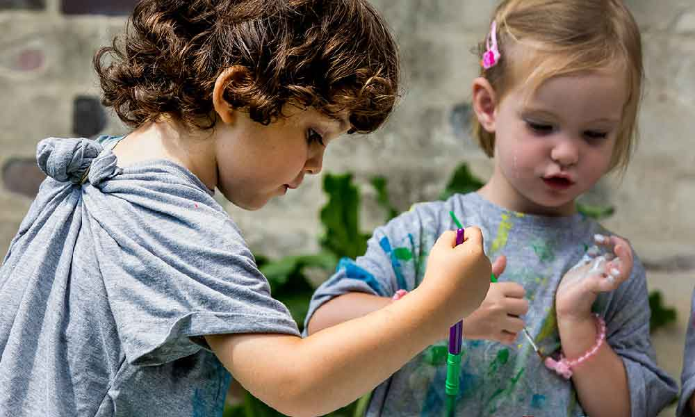 نقش هنر در پرورش خلاقیت کودکان