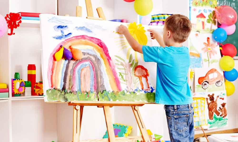 پرورش خلاقیت در کودک
