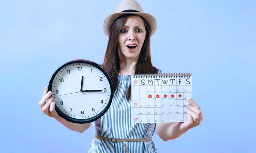 تاخیر در چرخه قاعدگی | علل و دلایل پریود نشدن