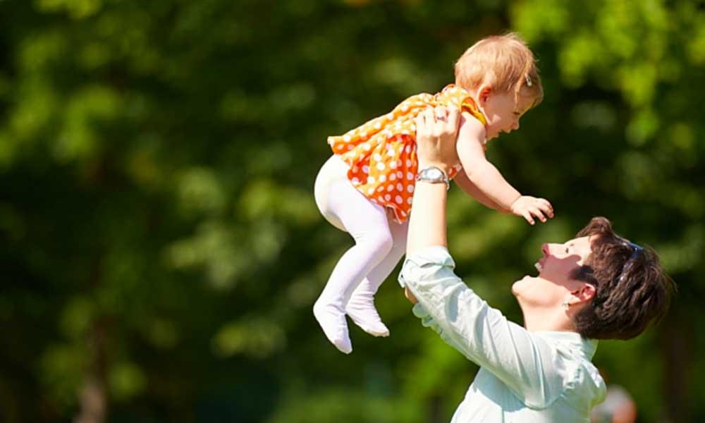 مادر شدن شروع دوباره زندگی