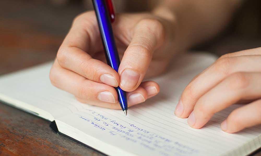 برای کاهش استرس بنویسید!