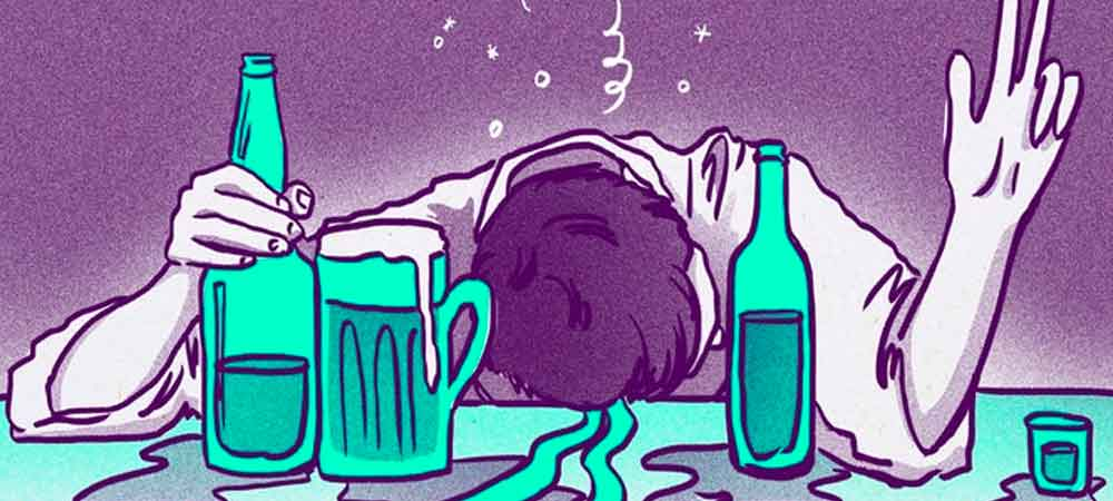 اثرات کوتاه مدت اعتیاد به الکل