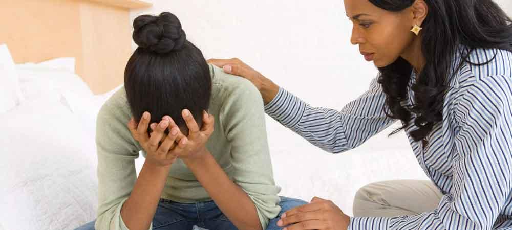 نیاز فرد افسرده به کمک اطرافیان
