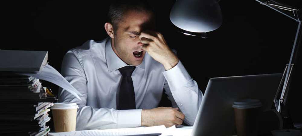 چه زمانی کار کردن به اعتیاد تبدیل می شود