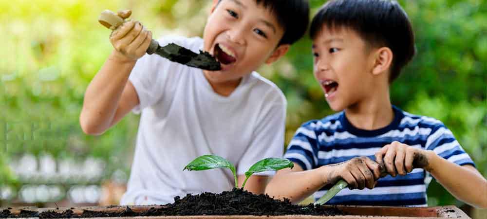 خوردن خاک در چه کودکانی دیده می شود؟