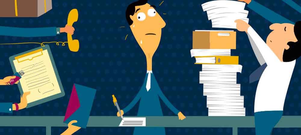 عوامل بروز استرس شغلی