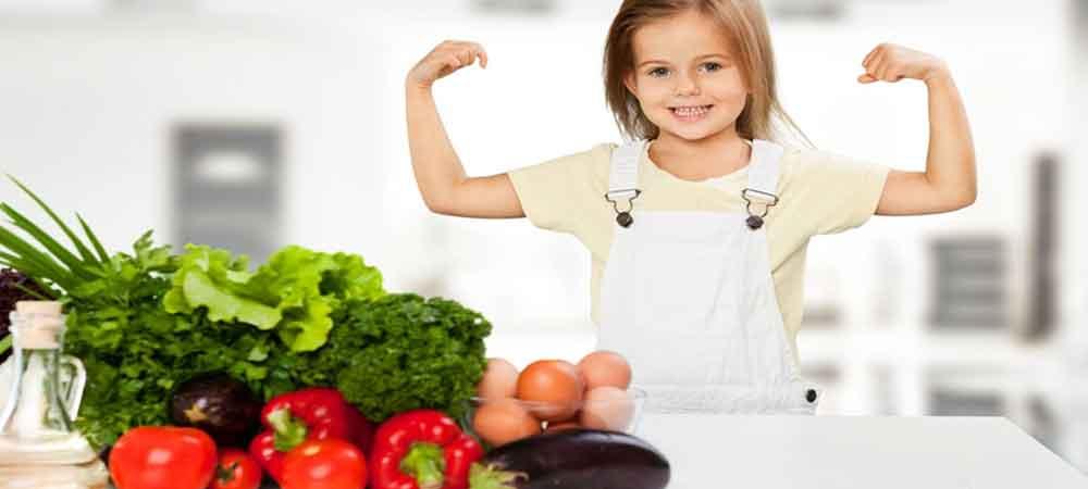 درمان چاقی کودکان با غذاهای سالم