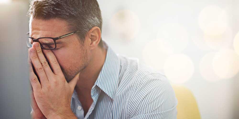 فشار و استرس بالای مردان
