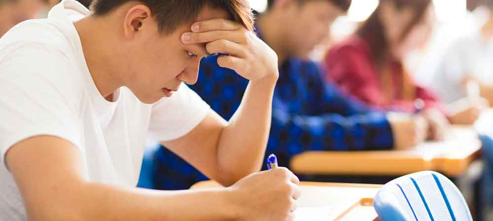 مقابله با استرس هنگام امتحان