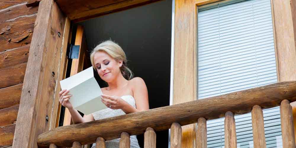 برای همسرتان نامه بنویسد