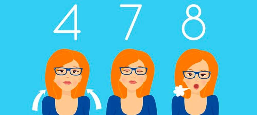 روش تنفس سه مرحله ای 4-7-8