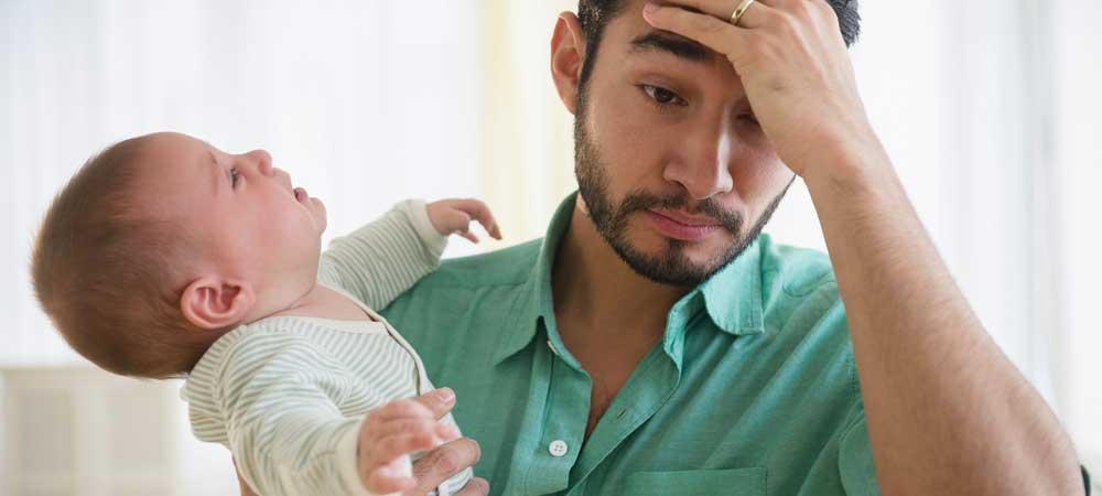 افسردگی بعد از زایمان در مردان