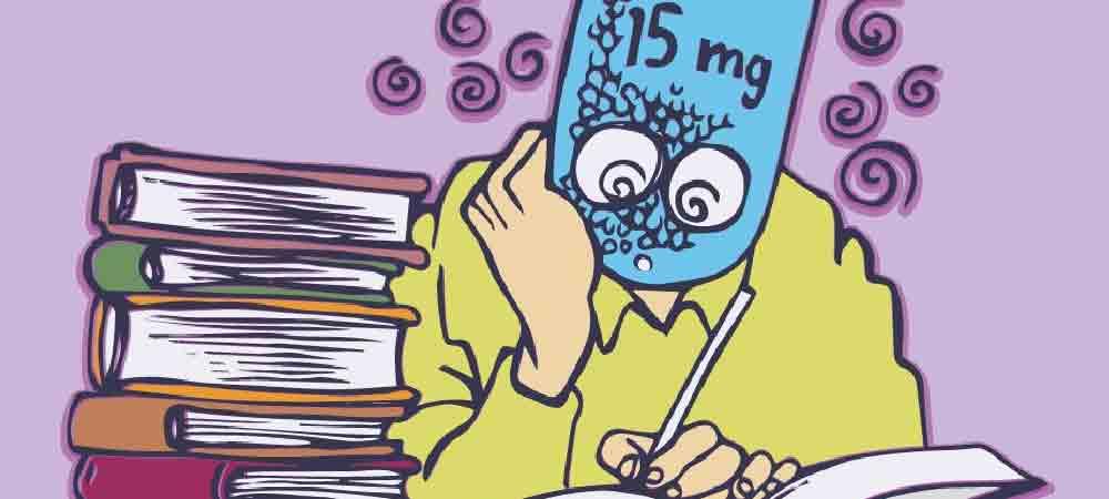 خواندن درس با ریتالین