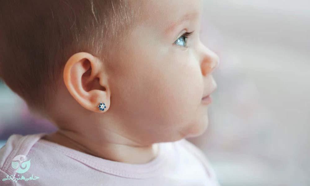 سوراخ کردن گوش کودک   عوارض و پیامدهای آن