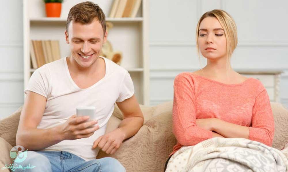 درمان حسادت در رابطه | چگونه حسادت در رابطه را کنترل کنیم؟