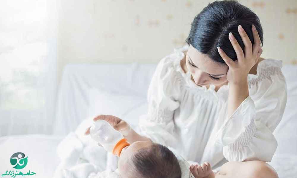 کم بودن شیر مادر | علل و راهکارهایی برای افزایش شیر مادر