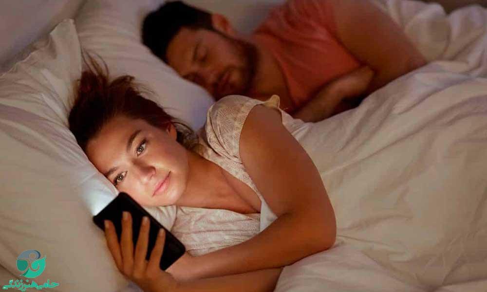 عاشق دیگری شدن بعد از ازدواج و متاهلی