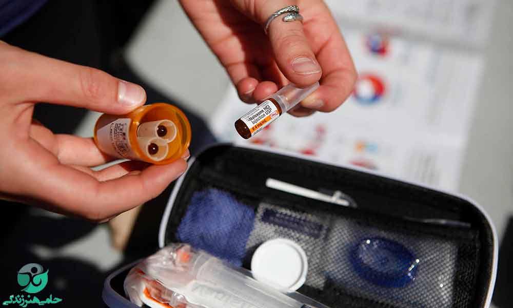 آمپول نالوکسان | موارد مصرف، عوارض مصرف و قطع ناگهانی نالوکسان