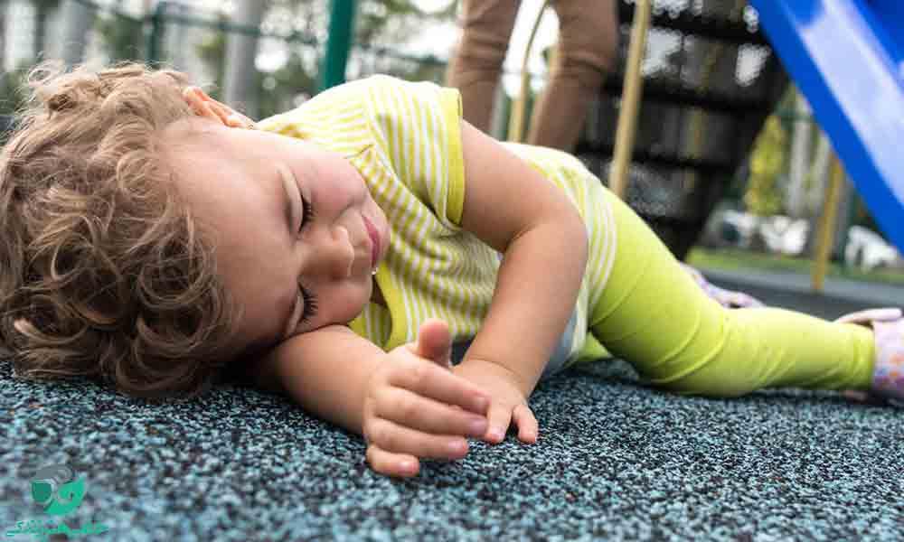 افتادن کودک از دست مراقب | اقدامات اولیه پس از افتادن کودک از دست مراقب