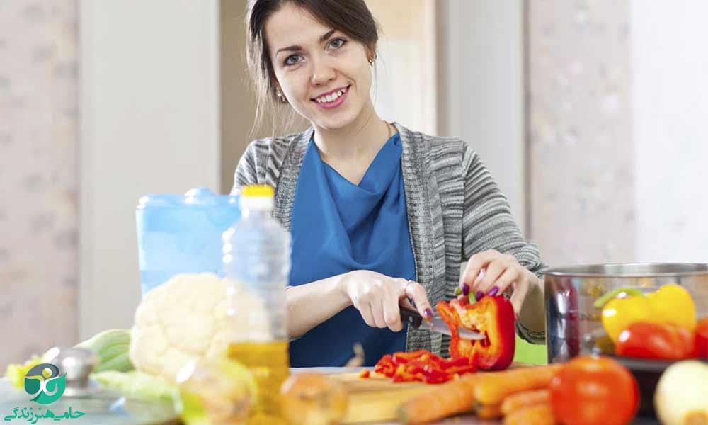 تغذیه مناسب برای تازه مادران | غذا برای بعد از زایمان