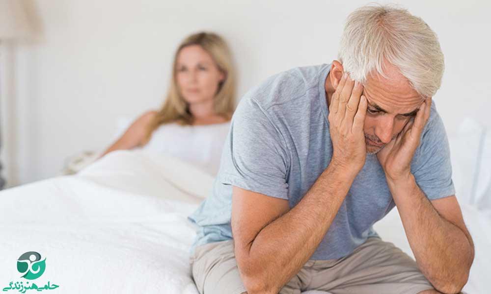 نعوظ در مردان مسن | تا چه سنی مردان می توانند رابطه داشته باشند؟