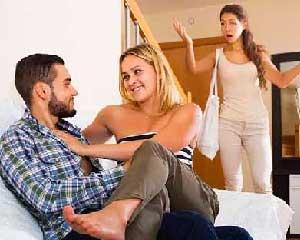 ارتباط با زن شوهر دار یا مرد متاهل