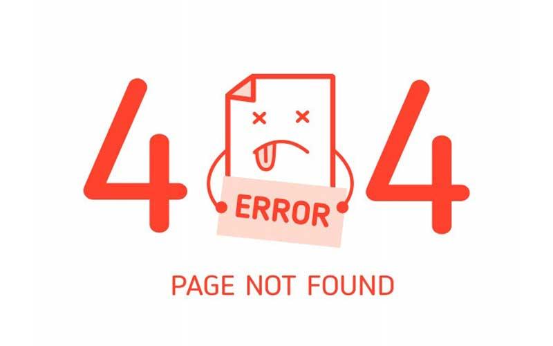 خطای 404! صفحه مورد نظر یافت نشد.