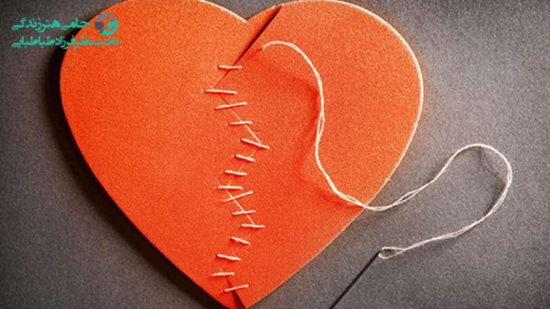 درمان قلب شکسته   گذار از میان علائم دلشکستگی و شروع دوباره زندگی