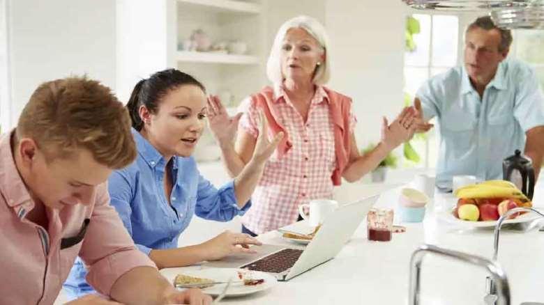 تنفر و قطع رابطه با خانواده همسر