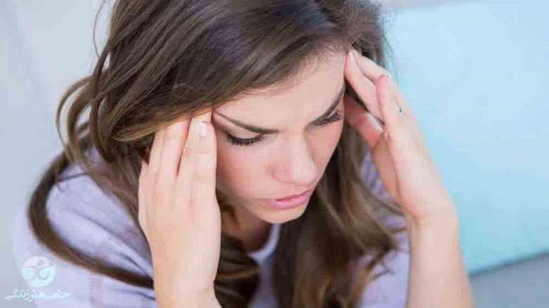 درمان سردرد عصبی   راههای کاهش سردردهای ناشی از اضطراب و استرس