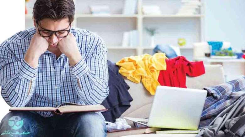 بی نظمی و شلختگی همسر | راهکارهای کاهش این رفتار چیست؟