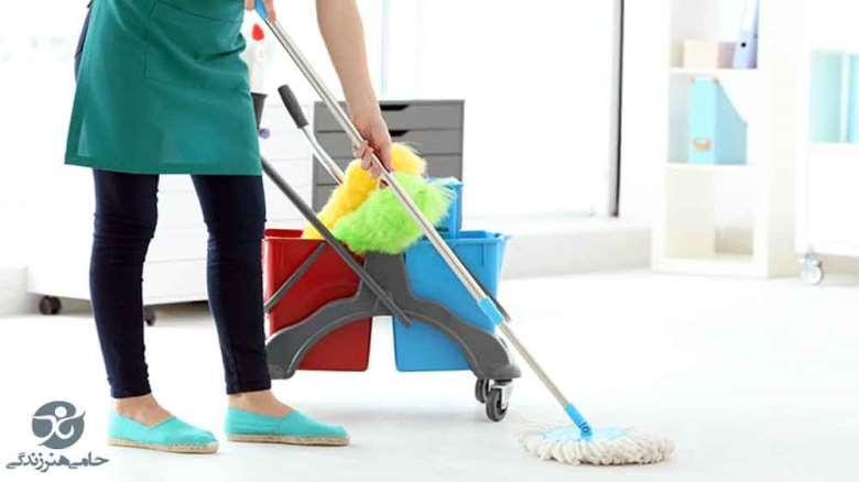 ترفندهای تمیزکاری خانه برای افراد شاغل