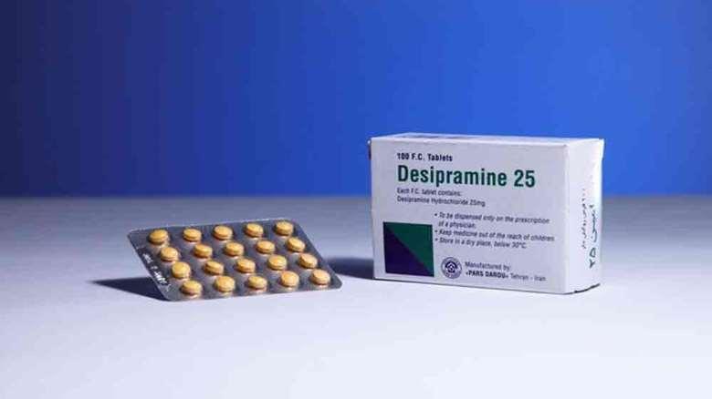 داروی دزیپرامین (دسیپرامین)   موارد مصرف و عوارض داروی دزیپرامین