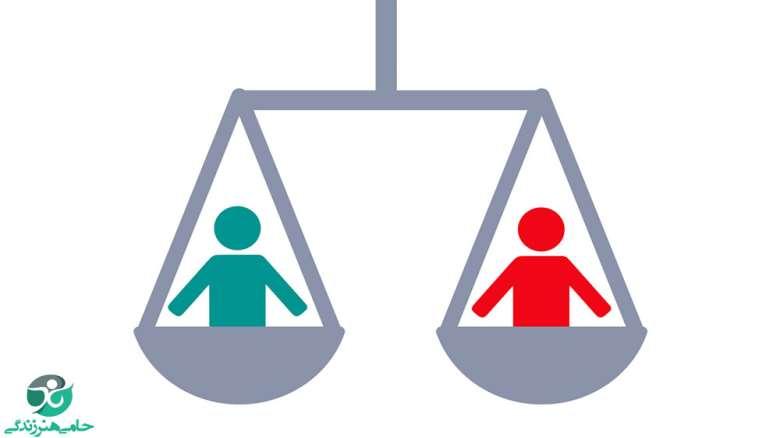 مقایسه کردن   چگونه دست از مقایسه کردن برداریم؟