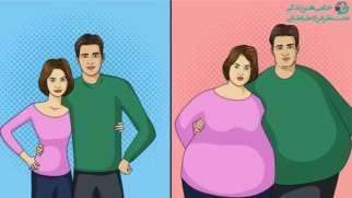 چاقی بعد از ازدواج | دلایل و راه های پیشگیری از آن چیست؟