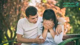 دلداری دادن به همسر | واکنش مردان به احساس غم و راهکار هایی برای دلداری دادن
