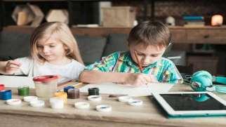 تفصیر نقاشی کودک | پی بردن به هوش کودک از روی نقاشی