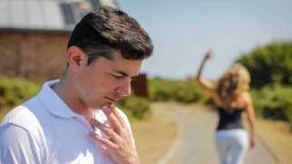 واکنش مردان بعد از جدایی