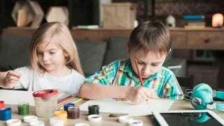 تفسیر نقاشی کودک | پی بردن به هوش کودک از روی نقاشی